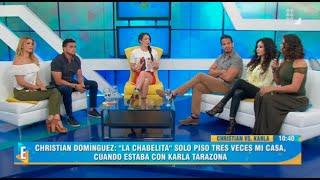 Video Christian Domínguez y Karla Tarazona frente a frente se dicen de todo en vivo MP3, 3GP, MP4, WEBM, AVI, FLV September 2019