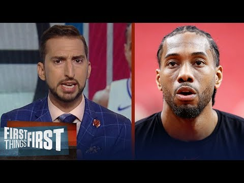 Kawhi's deal with Clippers is about 'money and power' - Nick Wright | NBA | FIRST THINGS FIRST