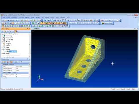 Siemens FEMAP - 11.1 FE Modeling Enhancements
