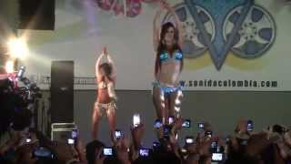 Colombia Girls Chicas Car Audio 2013 Sexy Dance