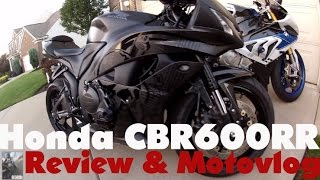 5. Honda CBR600RR: Review, flogging & Motovlog