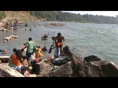 Video Female Holy Bath at  Narmada river Jabalpur,India download in MP3, 3GP, MP4, WEBM, AVI, FLV January 2017
