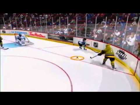 GOALIE SCORES OVERTIME WINNER!! (NHL 13 Clips)