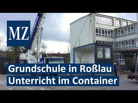 Unterricht im Container: Grundschule Waldstraße in De ...