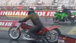 2 Stroke Super Eliminator Test&tune Motorcycle Drag Racing NHDRO 2012