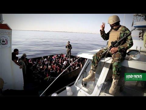 Libyan coastguard rescue 147 African migrants