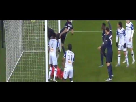 PSG vs  Bastia 2-0 All Goals Highlights 1/9/2016