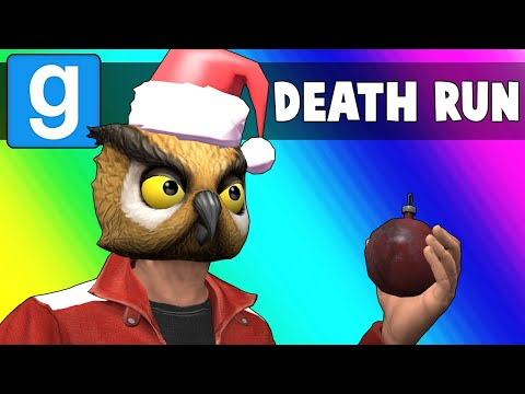 Gmod Death Run Funny Moments - Traps Under the Tree and Laggy Jenga! (Garry's Mod) (видео)