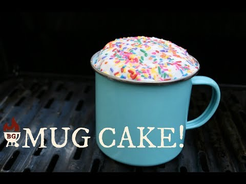 Mug Treats | Coffee Mug Cake On The Grill | Camping Treat
