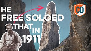 The Man Who Free Soloed The 'Impossible' Climb In 1911 | Climbing Daily Ep.1668 by EpicTV Climbing Daily