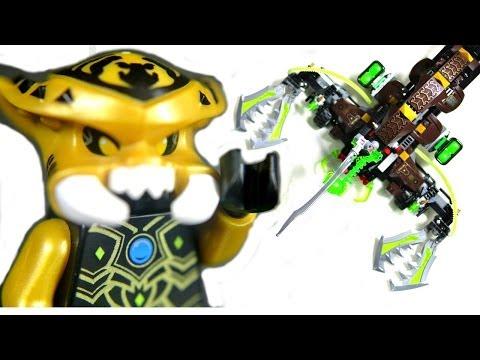 Vidéo LEGO Chima 70132 : Le lance-missiles Scorpion de Scorm