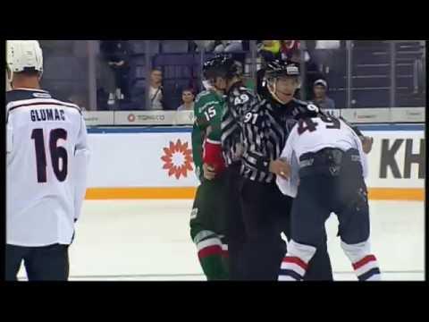 KHL Fight: Svitov VS Bolduc (видео)