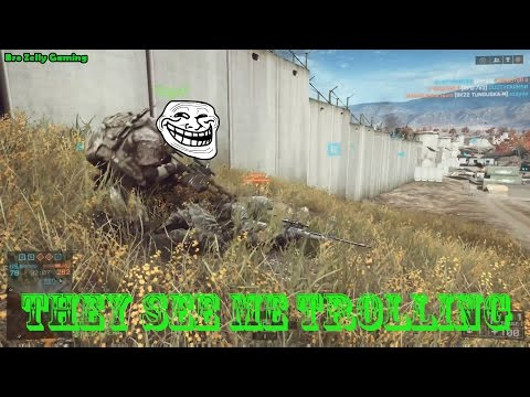 Battlefield 4 - Bag Of Trolling Tricks, Pushing People Off Building, SUAV's, Road Kills, Noobs, C4 S