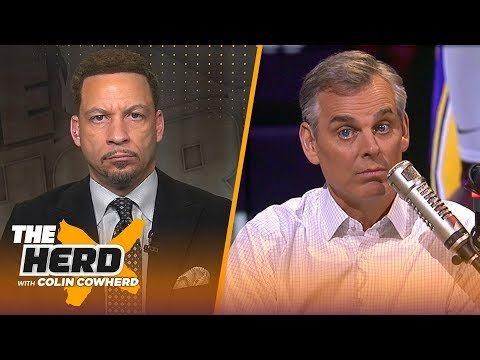 Chris Broussard on how LeBron should handle his decline & Kyrie's media pressure | NBA | THE HERD