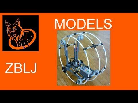 Lego Power Functions Monowheel