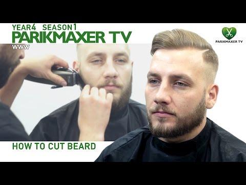 Стрижка бороды. Работа опасной бритвой. Как стричь бороду. parikmaxer.tv