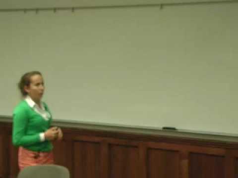 HHMI Forschung Einführungen: Gabriela Timoney
