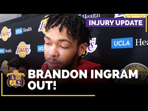 Video: Lakers Injury Report: Brandon Ingram OUT After Injury In Miami!