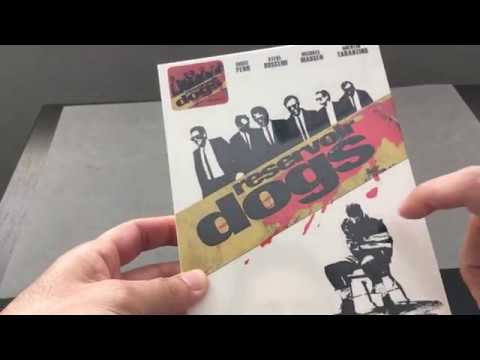 RESERVOIR DOGS [NOVAMEDIA #17] STEELBOOK BLU RAY REVIEW + UNBOXING