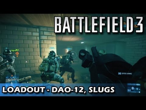 dao12 - Loadout Ep.15 http://youtu.be/0yjh8VVP8NM Hey guys. It's time for episode 16 of Loadout. Today I'm going to be using the DAO-12 with extended mags and slug r...