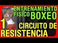 Entrenamiento Físico para boxeo: Circuito de resistencia a la potencia y a la fuerza muscular -  02
