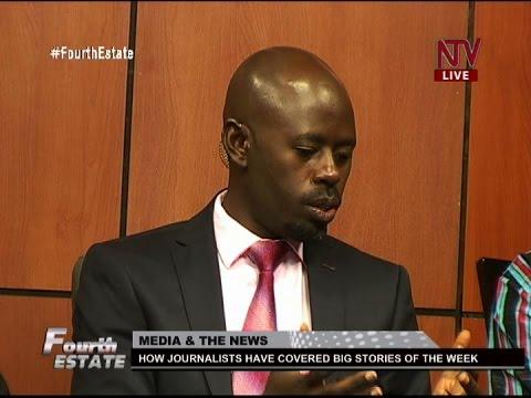 Fourth Estate: Media coverage of major news stories (Kaweesi murder and succession debate)