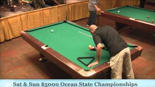 Jayson Shaw Vs Martin Daigle 25th Ocean State 9-Ball Championship