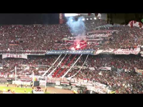 Hinchada de River Plate vs. Independiente del Valle. 2016 -SoloRiver.Net - Los Borrachos del Tablón - River Plate
