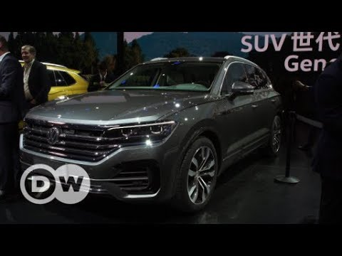 VW Touareg: Weltpremiere in China - der neue VW Touareg | DW Deutsch
