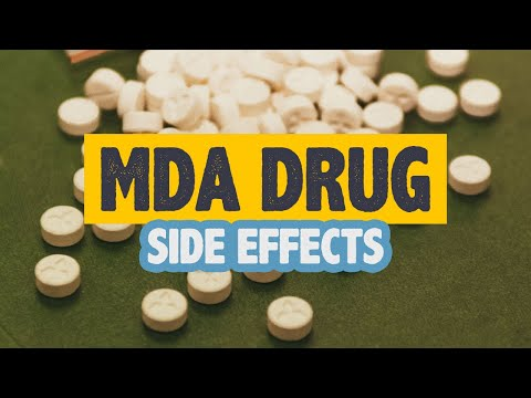 MDA Drug Side Effects