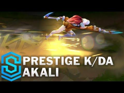 Akali K/DA Hàng Hiệu - Prestige K/DA Akali