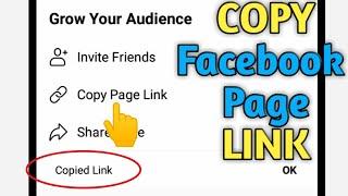 How to Copy Facebook Page Link 2020 | Facebook Tutorial
