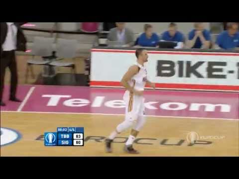 Strasbourg hits three 3-pointers in 19 seconds to win the Eurocup game