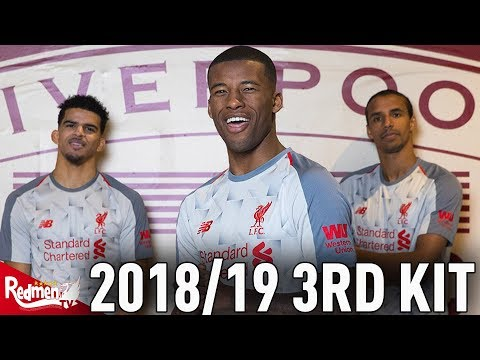 Liverpool's 2018/19 3rd Kit CLOSE UP HD UNBOXING!