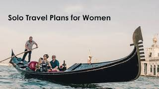 Solo Women Travel