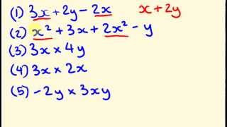 Algebra is where we substitute a letter (called a pronumeral) to make equations (and even maybe solve them). Algebra isn't hard - if you know the basics. Thi...