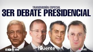 Video Tercer debate presidencial del INE desde Mérida, Yucatán - Proyecto Puente MP3, 3GP, MP4, WEBM, AVI, FLV Juni 2018