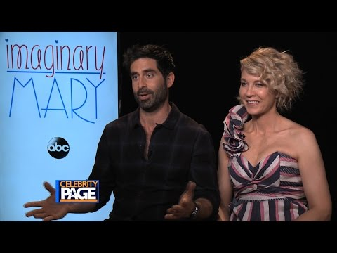 TV Guide Magazine: Jenna Elfman and Stephen Schneider on Imaginary Mary