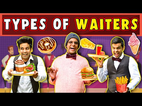 Types of Waiter   The Half-Ticket Shows