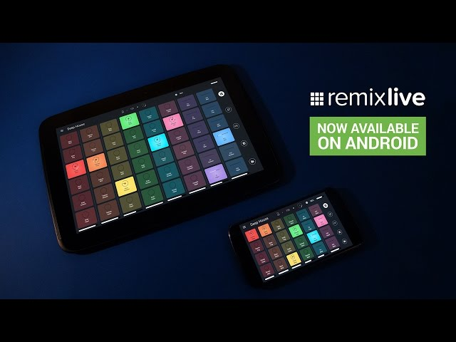 Remixlive Android - Introduction