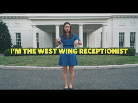 This Is A Tour Of The West Wing In Sign