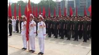 Bộ tư lệnh bảo vệ Lăng báo công dâng Bác
