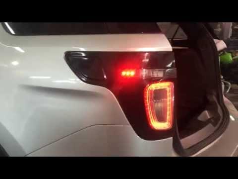 задний фонарь форд эксплорер спорт
