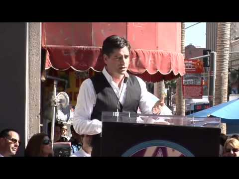 John Stamos Walk of Fame Ceremony