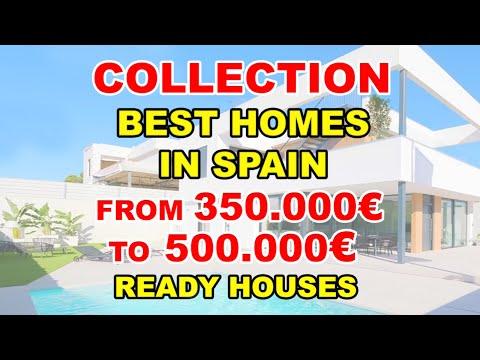 350000€-500000€/Key ready houses/Best houses in Spain/Villas in Costa Blanca/Buy property in Benidorm