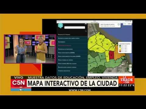 El Mapa interactivo del CESBA en C5N