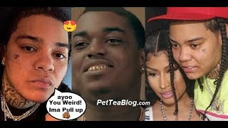 Young M.A Responds to Kodak Black that her & Nicki Minaj Can Get it (Video)