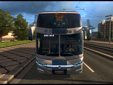 Bus Macropolo G7 1600LD FC Porto Skin v1.18-1.22