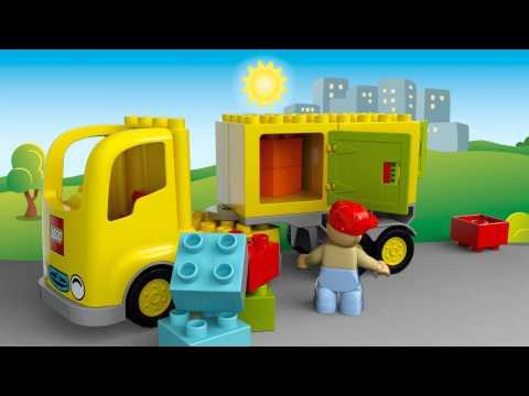 Конструктор Желтый грузовик - LEGO DUPLO - фото № 4