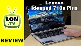 """Buy it from Lenovo - http://lon.tv/gls3e ( affiliate link ) - Lenovo's Ideapad 710s Plus is an update on last year's 710s. It has a new Skylake processor but doesn't perform as well as the Yoga 720 with the same chip. See more laptops: http://lon.tv/laptops and subscribe! http://lon.tv/sVIDEO INDEX:00:05 - Hardware overview00:28 - System specs00:31 - Display00:38 - Pricing00:46 - Hardware specs01:14 - Crystal DiskMark Benchmark Test01:21 - Upgrading storage (but not RAM)01:43 - Battery Life02:13 - Weight02:35 - Fan noise03:07 - Ports04:27 - Keyboard05:15 - Trackpad05:24 - Performance: YouTube / Netflix video streaming05:38 - Performance: Web browsing05:56 - BrowserBench.org Speedometer Benchmark Test 06:34 - Performance: Microsoft Word / Office07:02 - Gaming: Minecraft07:21 - Gaming: Rocket League07:54 - Gaming: 3DMark Cloudgate Benchmark09:06 - Kodi and high bit rate HEVC video10:12 - Conclusion and final thoughtsSurprisingly this laptop performed about the same as last year's model even though it's sporting a new Skylake processor. But its entry level price point (currently out of stock) is $639 which is a good price for what this device has for a configuration.In many way's it's similar to the Yoga 720 13.3"""" (same chipset, ram, etc) but of the two I prefer the slightly more expensive 720. In addition to better performance, the 720 has a nicer keyboard and trackpad and a full service thunderbolt port. Definitely check out that review here:https://youtu.be/84Hh6gj9jnESubscribe to my email list to get a weekly digest of upcoming videos! - http://lon.tv/emailSee my second channel for supplementary content : http://lon.tv/extrasVisit the Lon.TV store to purchase some of my previously reviewed items! http://lon.tv/storeRead more about my transparency and disclaimers: http://lon.tv/disclosuresWant to chat with other fans of the channel? Visit our forums! http://lon.tv/forumsWant to help the channel? Start a Patreon subscription!http://lon.tv/patreonor donate to my Tip J"""